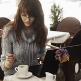 Successful freelancer working outdoors. Freedom and making money Royalty Free Stock Images