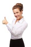 Successful girl Stock Photo