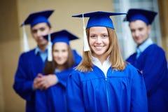 Successful graduate Royalty Free Stock Photo