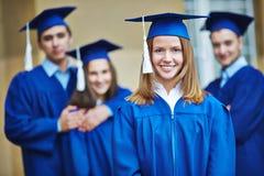 Successful graduate Stock Photo