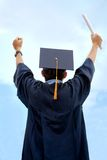 Successful graduate man Royalty Free Stock Photos