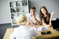 Successful group of business people Stock Image