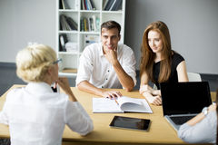 Successful group of business people Royalty Free Stock Photography