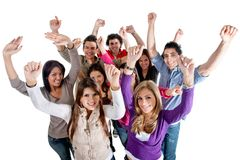 Successful group of people Stock Images