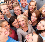 Successful group of  people smiling Royalty Free Stock Photography