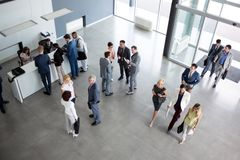 Successful group of people in suit royalty free stock images
