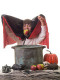 Successful Halloween Apple Bobbing Game Stock Photos