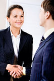 Successful handshake Stock Photography