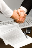 Successful handshake Royalty Free Stock Images