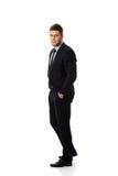 Successful handsome businessman. Stock Photo