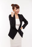 Successful happy smiling business woman. Royalty Free Stock Images