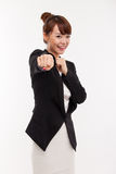Successful happy smiling business woman. Stock Photography