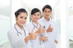 Successful health service Stock Images