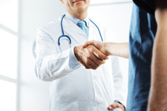 Successful healthcare team Royalty Free Stock Image