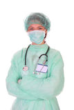 Successful healthcare worker Stock Image