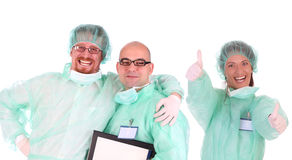 Successful Healthcare Workers Royalty Free Stock Image