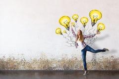 Successful ideas stock photo