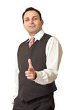 Successful indian business man Stock Photos