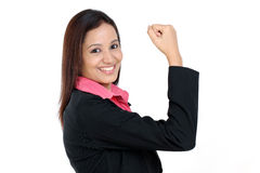 Successful Indian business woman Royalty Free Stock Photo