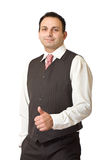 Successful indian businessman Royalty Free Stock Photo