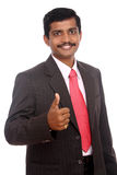 Successful indian businessman Royalty Free Stock Photography