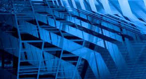 Successful industrial architecture royalty free stock image