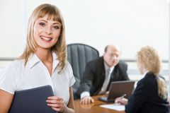 Successful Interview Stock Images