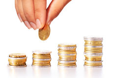 Successful investment concept Stock Photography