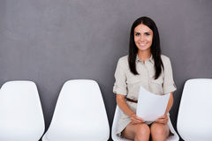 Successful job candidate. Royalty Free Stock Images