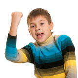 Successful kid Royalty Free Stock Photo
