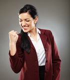 Successful latino businesswoman Royalty Free Stock Photo