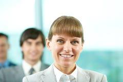 Successful leader Stock Image