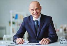Successful leader Stock Images