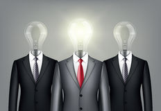 Successful leadership businesspeople in suit Royalty Free Stock Photography