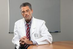 Successful male doctor Stock Photography