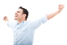 Successful man Royalty Free Stock Images
