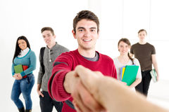 Successful Man Student Royalty Free Stock Images