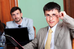 Successful manager Stock Photography