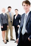 Successful manager Stock Images