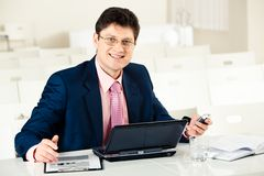Successful manager Stock Image