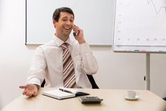 Successful manager. Stock Photo