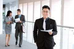Successful manager Royalty Free Stock Photos
