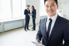 Successful manager Stock Photos