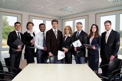 Successful managers. Royalty Free Stock Image