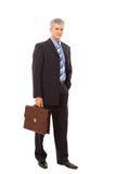 of a successful mature business man Stock Photos