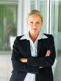 Successful mature business woman Royalty Free Stock Photos