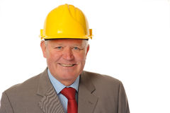 Successful Mature Businessman Or Foreman Royalty Free Stock Image