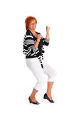 Successful mature woman Royalty Free Stock Photos