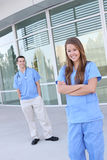 Successful Medical Woman Nurse at Hospital Royalty Free Stock Photo