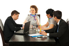 Successful meeting Stock Photo